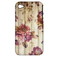 On Wood 1897174 1920 Apple Iphone 4/4s Hardshell Case (pc+silicone)