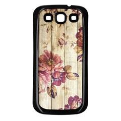 On Wood 1897174 1920 Samsung Galaxy S3 Back Case (black)