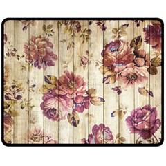 On Wood 1897174 1920 Double Sided Fleece Blanket (medium)
