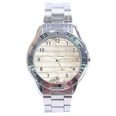 On Wood 2188537 1920 Stainless Steel Analogue Watch
