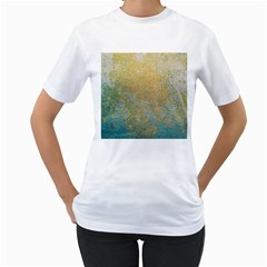 Abstract 1850416 960 720 Women s T Shirt (white) (two Sided)