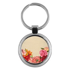 Flower 1646035 1920 Key Chains (round)