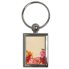 Flower 1646035 1920 Key Chains (rectangle)