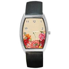 Flower 1646035 1920 Barrel Style Metal Watch