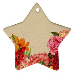 Flower 1646035 1920 Star Ornament (two Sides)