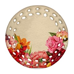Flower 1646035 1920 Round Filigree Ornament (two Sides)