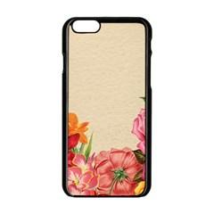 Flower 1646035 1920 Apple Iphone 6/6s Black Enamel Case