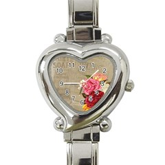 Flower 1646069 1920 Heart Italian Charm Watch