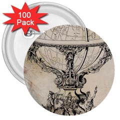 Globe 1618193 1280 3  Buttons (100 Pack)