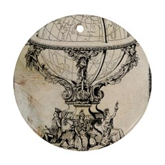 Globe 1618193 1280 Round Ornament (two Sides)