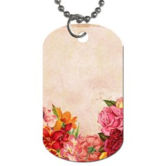 Flower 1646045 1920 Dog Tag (two Sides)