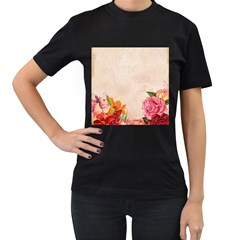 Flower 1646045 1920 Women s T Shirt (black)