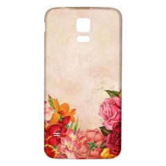 Flower 1646045 1920 Samsung Galaxy S5 Back Case (white)