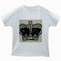 Crown 1515871 1280 Kids White T Shirts