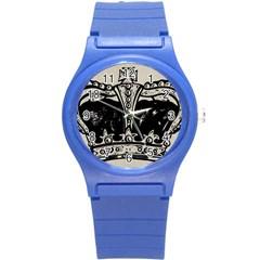 Crown 1515871 1280 Round Plastic Sport Watch (s)