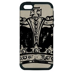 Crown 1515871 1280 Apple Iphone 5 Hardshell Case (pc+silicone)