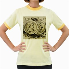 Young 1515867 1280 Women s Fitted Ringer T Shirts
