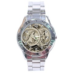 Young 1515867 1280 Stainless Steel Analogue Watch