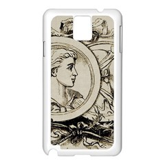 Young 1515867 1280 Samsung Galaxy Note 3 N9005 Case (white)