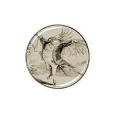 Bird 1515866 1280 Hat Clip Ball Marker (4 Pack)