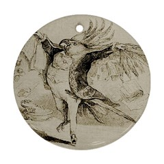 Bird 1515866 1280 Round Ornament (two Sides)