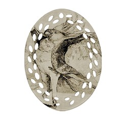 Bird 1515866 1280 Oval Filigree Ornament (two Sides)