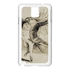 Bird 1515866 1280 Samsung Galaxy Note 3 N9005 Case (white)