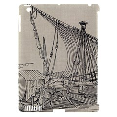 Ship 1515860 1280 Apple Ipad 3/4 Hardshell Case (compatible With Smart Cover)
