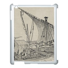 Ship 1515860 1280 Apple Ipad 3/4 Case (white)