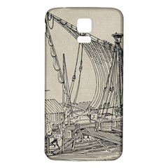 Ship 1515860 1280 Samsung Galaxy S5 Back Case (white)