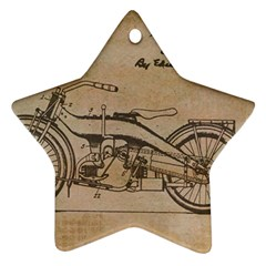 Motorcycle 1515873 1280 Ornament (star)
