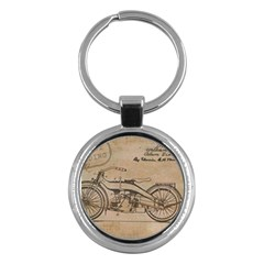Motorcycle 1515873 1280 Key Chains (round)