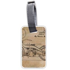 Motorcycle 1515873 1280 Luggage Tags (two Sides)