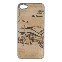 Motorcycle 1515873 1280 Apple Iphone 5 Case (silver)