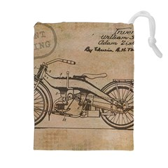 Motorcycle 1515873 1280 Drawstring Pouches (extra Large)