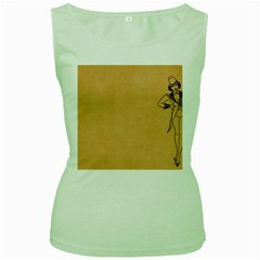 Flapper 1515869 1280 Women s Green Tank Top
