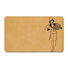 Flapper 1515869 1280 Magnet (rectangular)