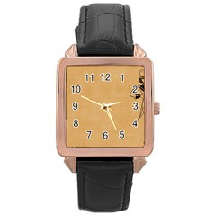 Flapper 1515869 1280 Rose Gold Leather Watch