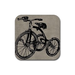 Tricycle 1515859 1280 Rubber Square Coaster (4 Pack)