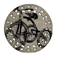 Tricycle 1515859 1280 Ornament (round Filigree)