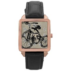 Tricycle 1515859 1280 Rose Gold Leather Watch