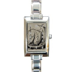 Ship 1515875 1280 Rectangle Italian Charm Watch