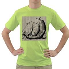 Ship 1515875 1280 Green T Shirt