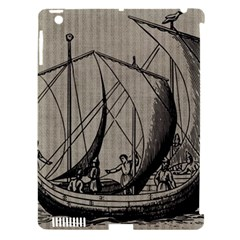 Ship 1515875 1280 Apple Ipad 3/4 Hardshell Case (compatible With Smart Cover)