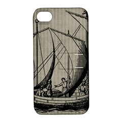 Ship 1515875 1280 Apple Iphone 4/4s Hardshell Case With Stand