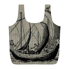Ship 1515875 1280 Full Print Recycle Bags (l)