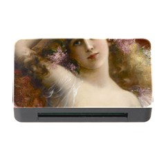 Victorian Lady In Pink Memory Card Reader With Cf