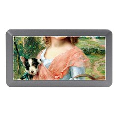 Girl With Dog Memory Card Reader (mini)