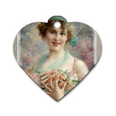 Vintage 1501577 1280 Dog Tag Heart (two Sides)