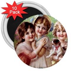 Vintage 1501556 1920 3  Magnets (10 Pack)